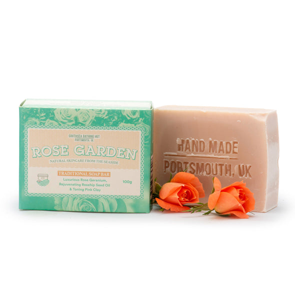 Artisan Soap Bar Rose Garden