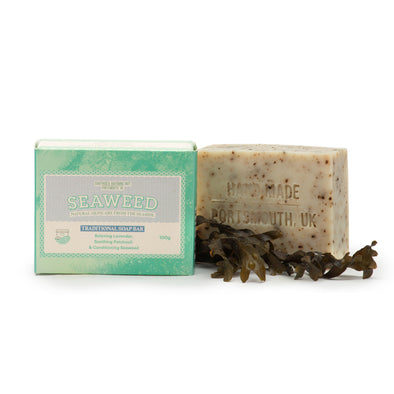 Artisan Soap Bar with Lavender, Patchouli & Seaweed