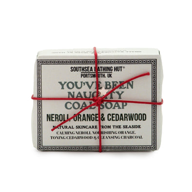 You've Been Naughty: Christmas Charcoal Soap