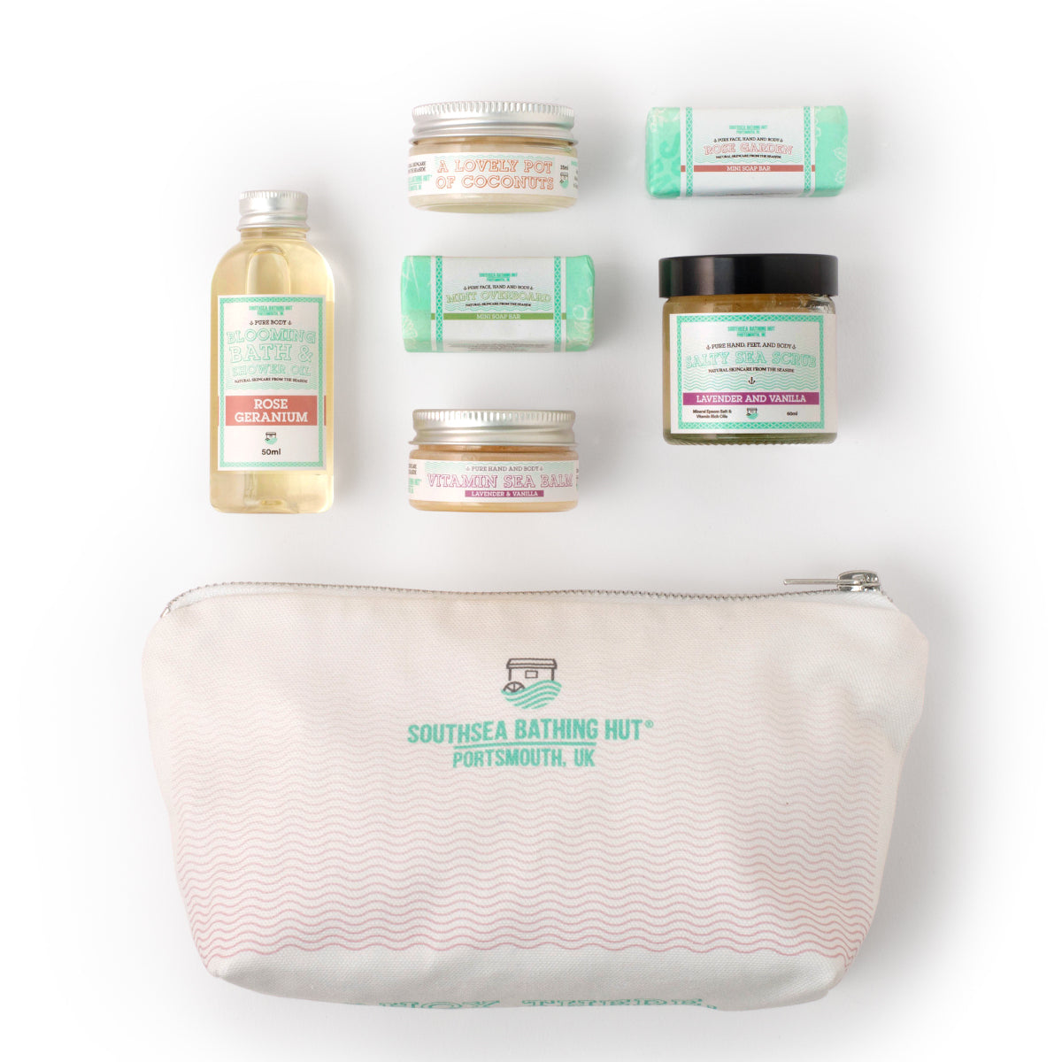 Mini Spa Gift Set Floral Southsea Bathing Hut