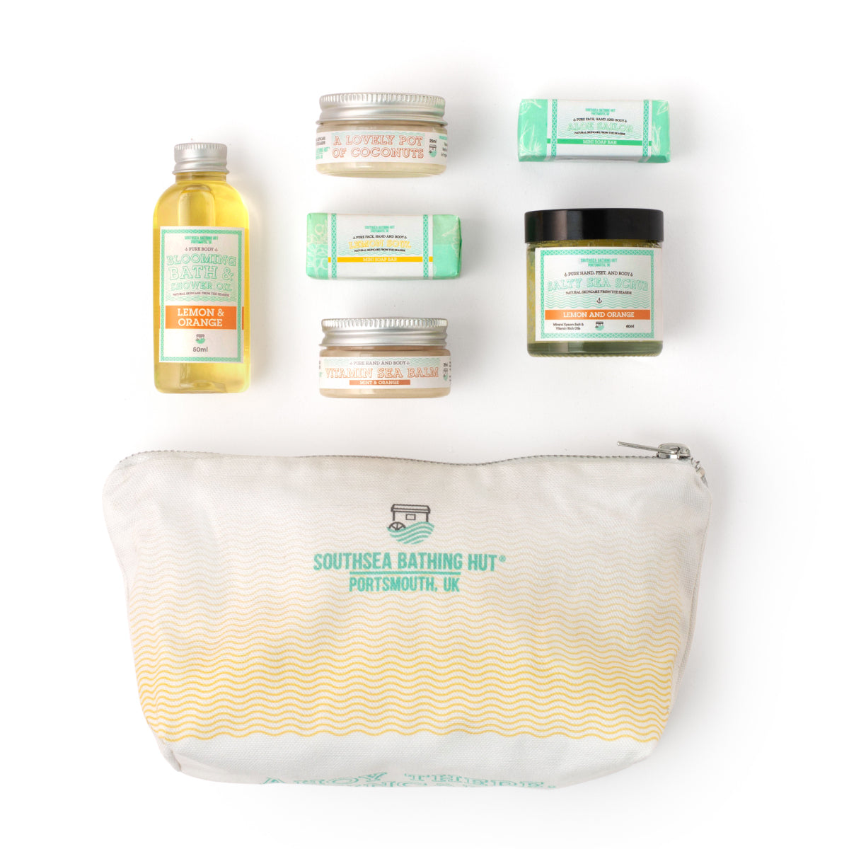 Mini Spa Gift Set Citrus Southsea Bathing Hut