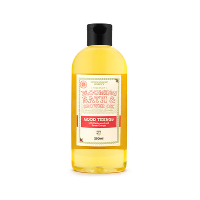 Christmas Good Tidings Blooming Bath & Shower Oil
