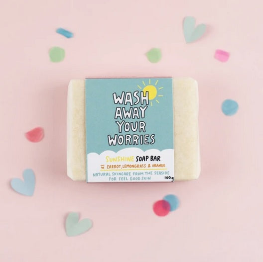 Artisan Soap Bar Wash Away Your Worries