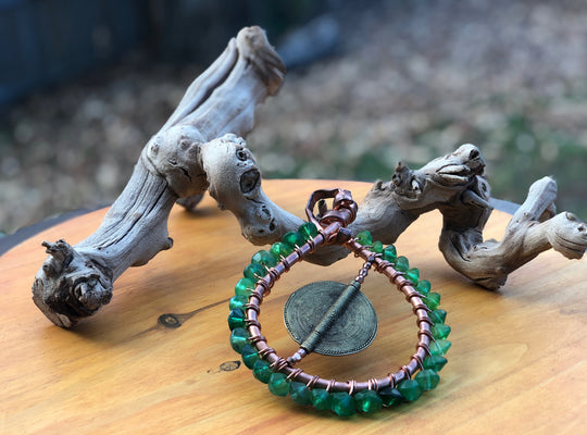 Tribal Bling Shield Pendant