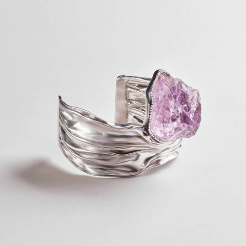Aeris Amethyst Bangle
