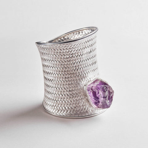 Astrum Amethyst Bangle
