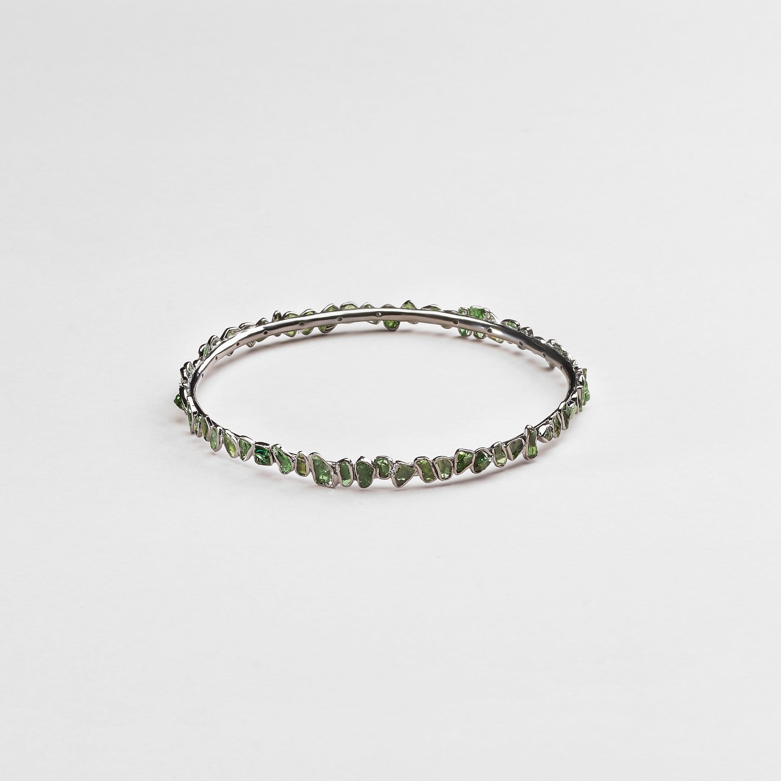 Aten Chrome Diopside Bangle