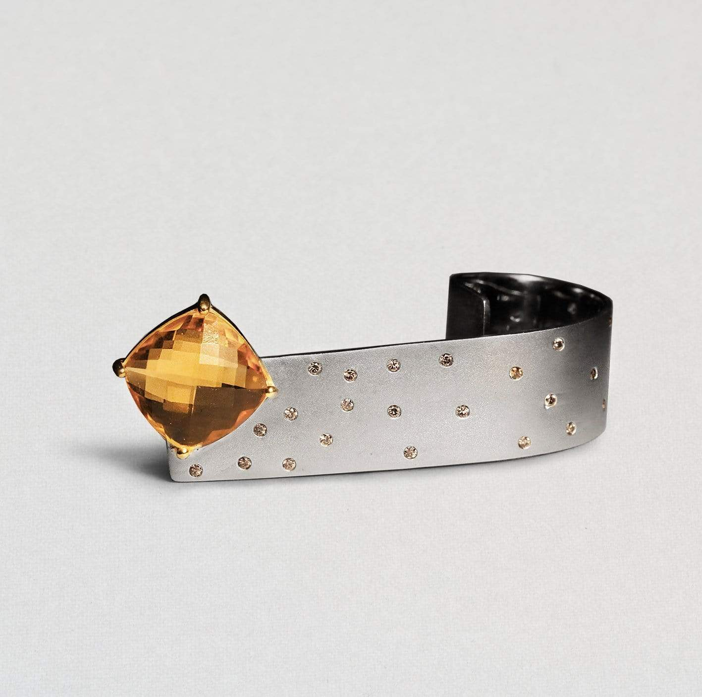 Meyln Ring, Citrine, Exclusive, Gold, Rhodium, Sapphire, silver, spo-disabled, StoneColor:Orange, Style:Fantasy Ring