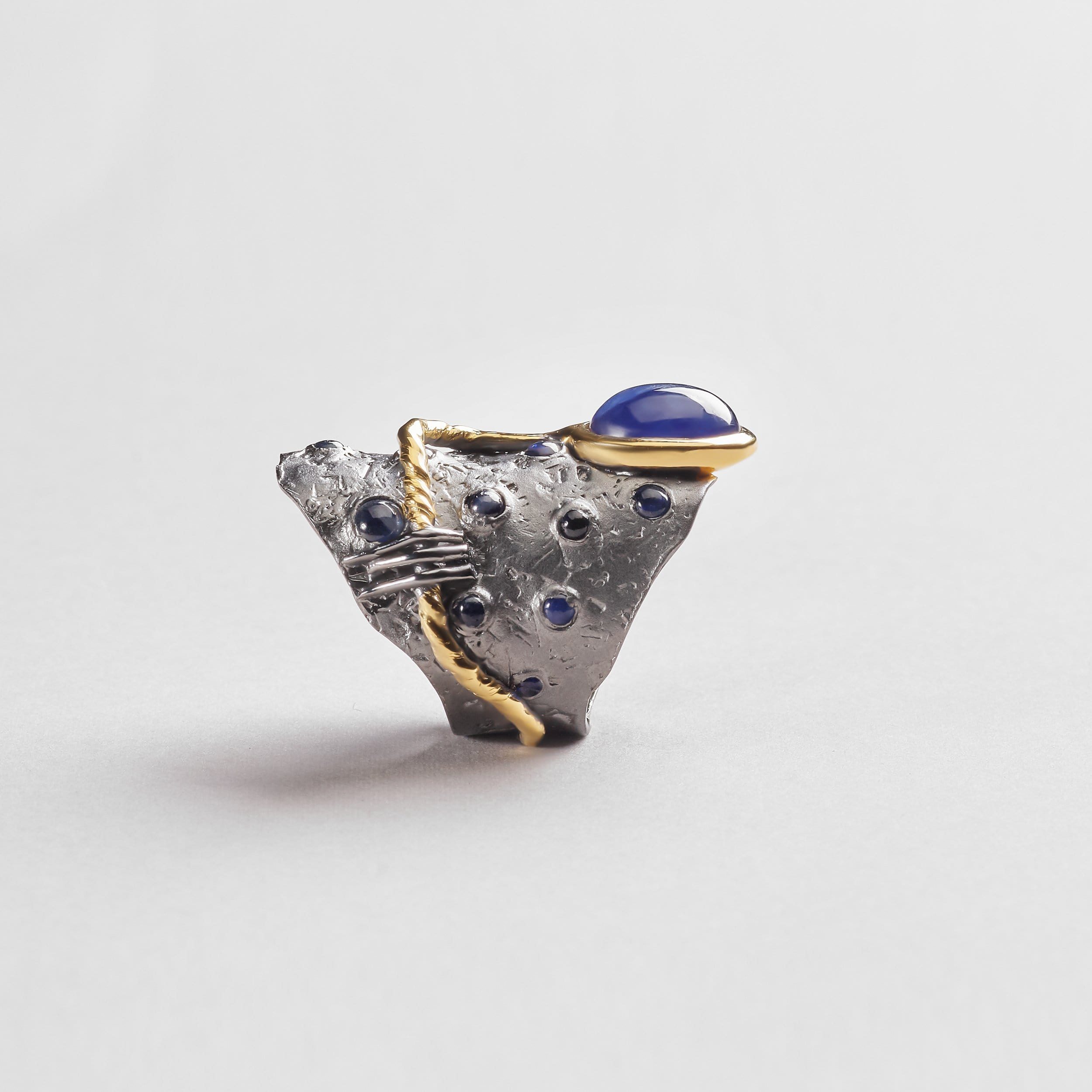 Cesia Sapphire Ring