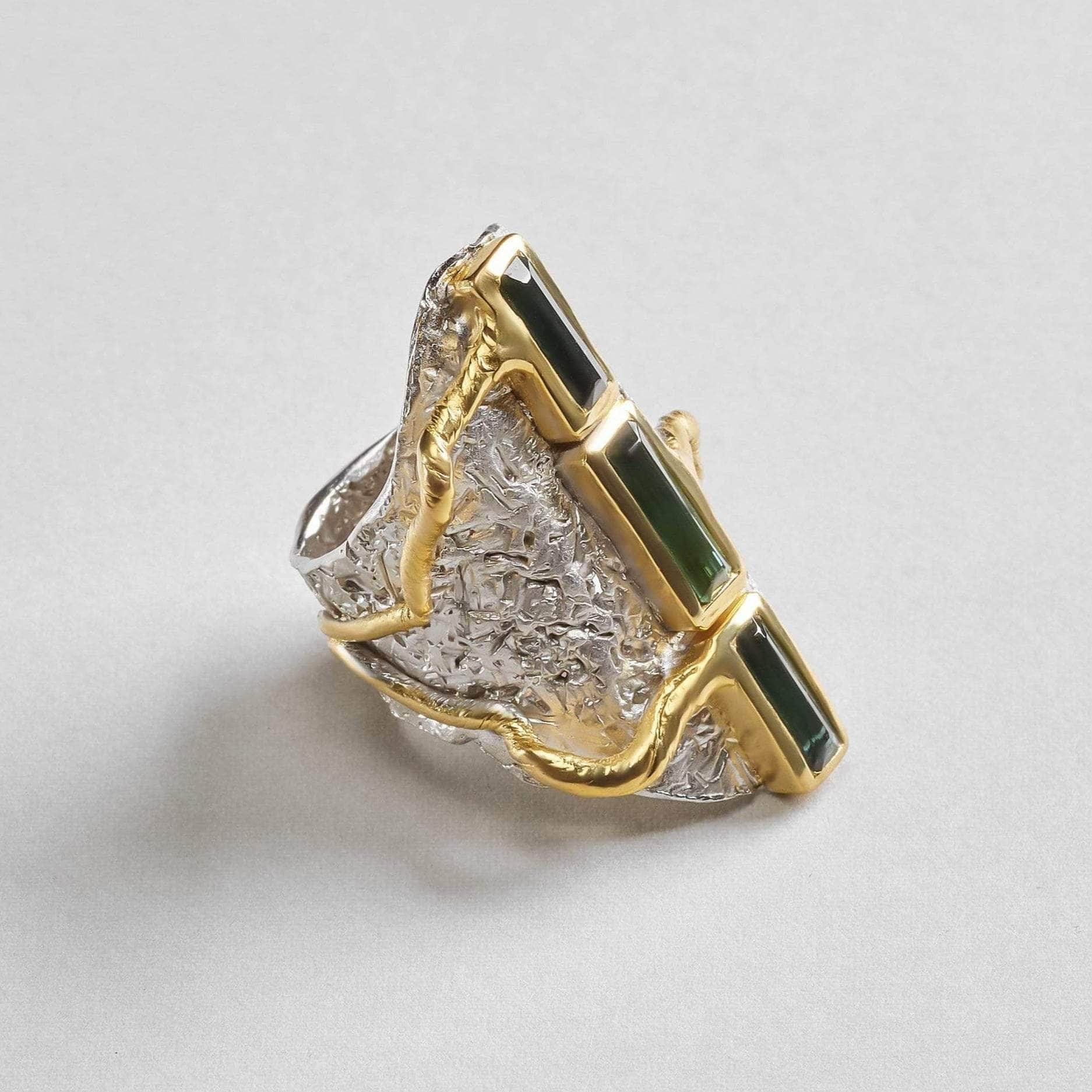 Arain Green Tourmaline Ring