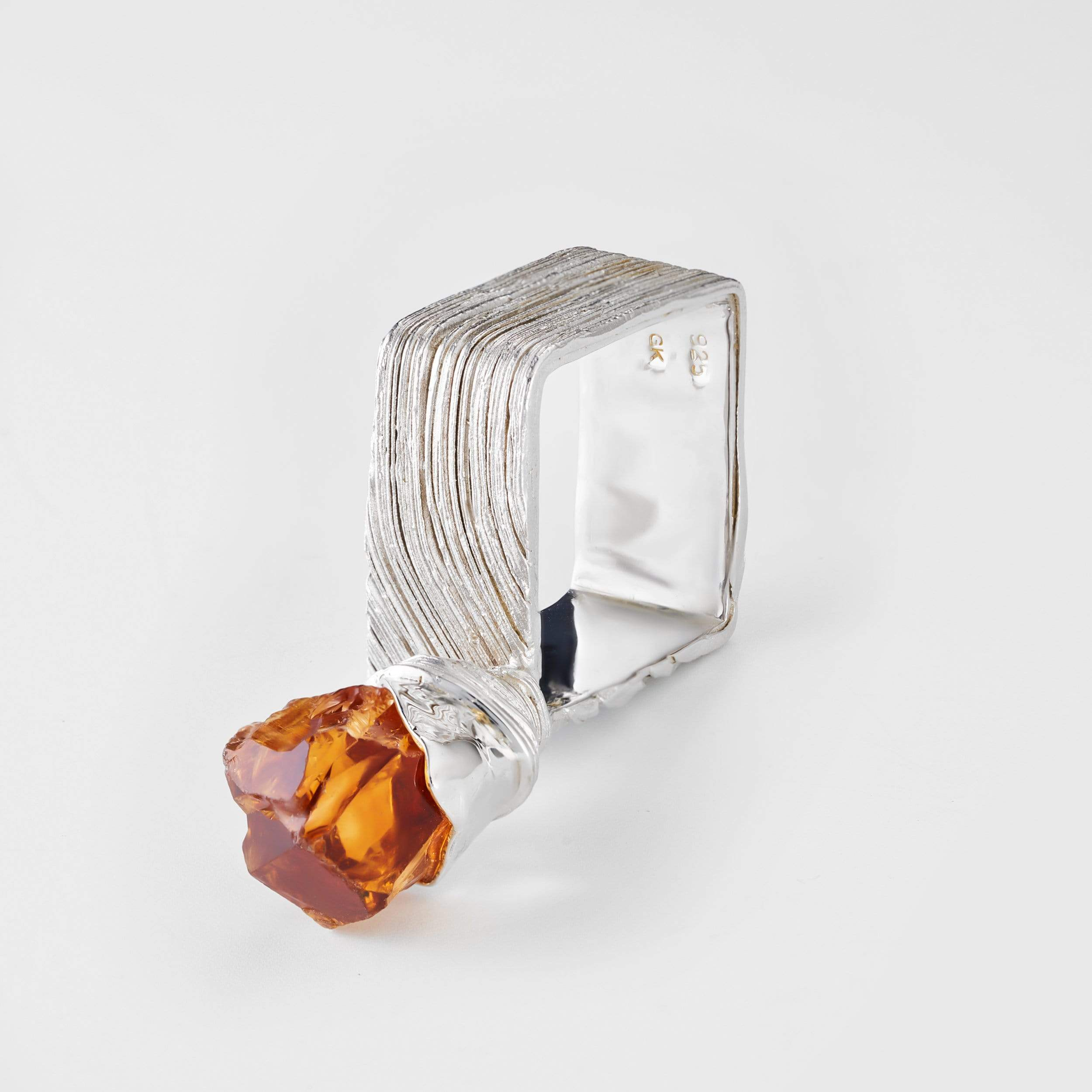 Evraine Citrine Ring