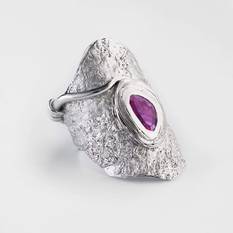 Elia Slice Ruby Ring