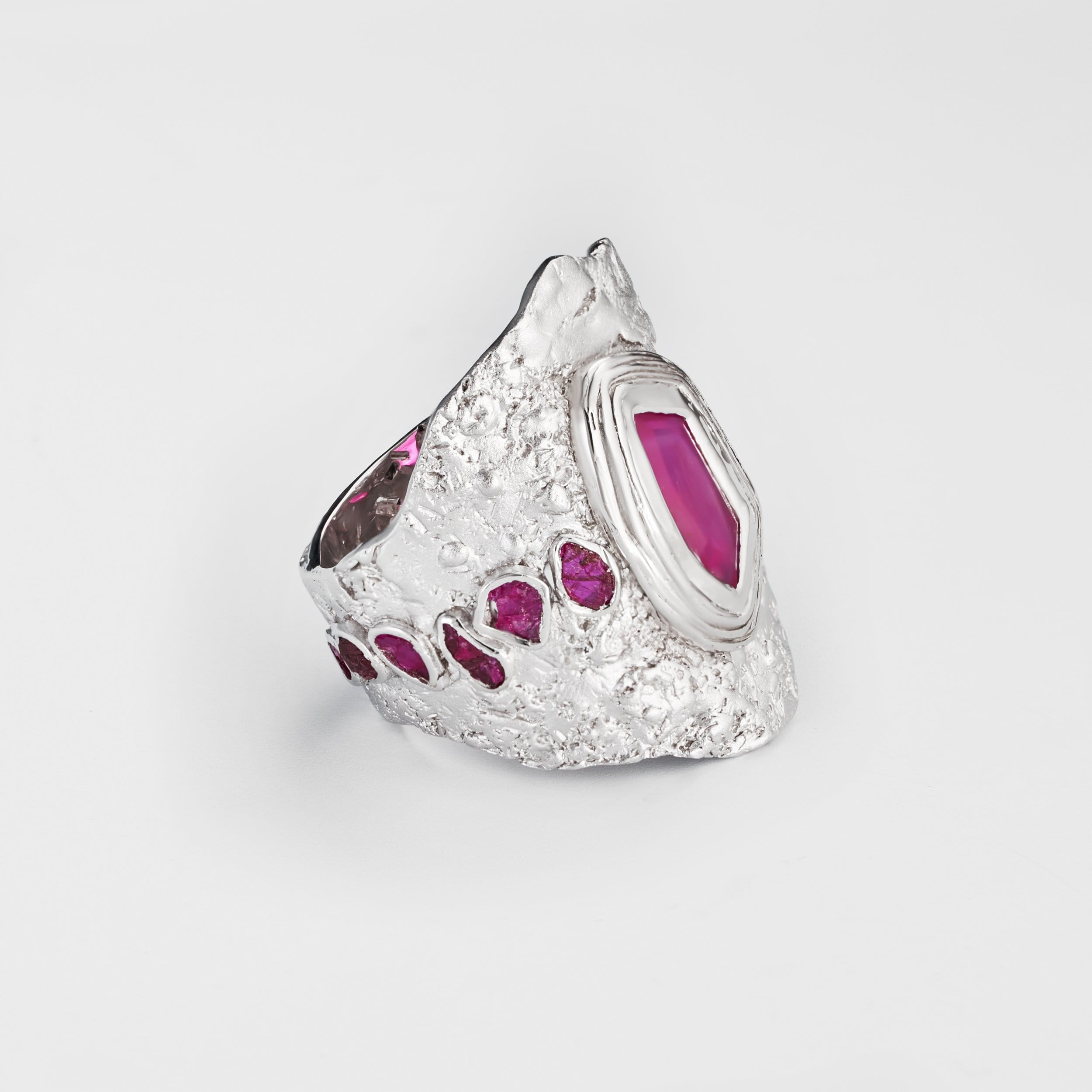Arra Slice Ruby Ring