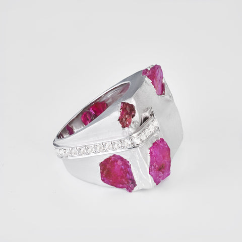 Eisha Slice Ruby Ring
