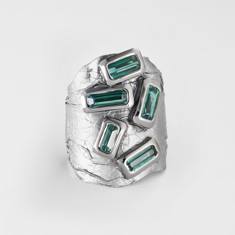 Tarith Green Tourmaline Ring