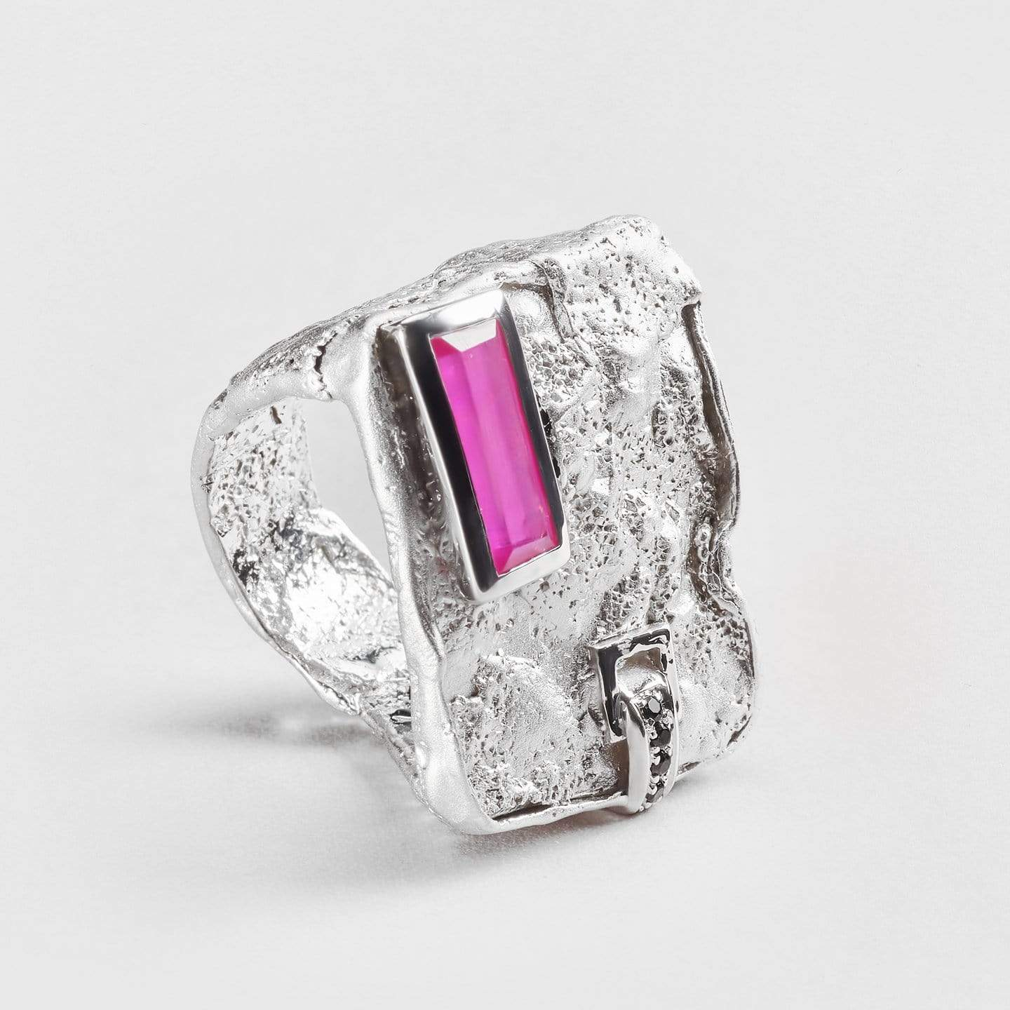 Nirdka Ruby and Spinel Ring