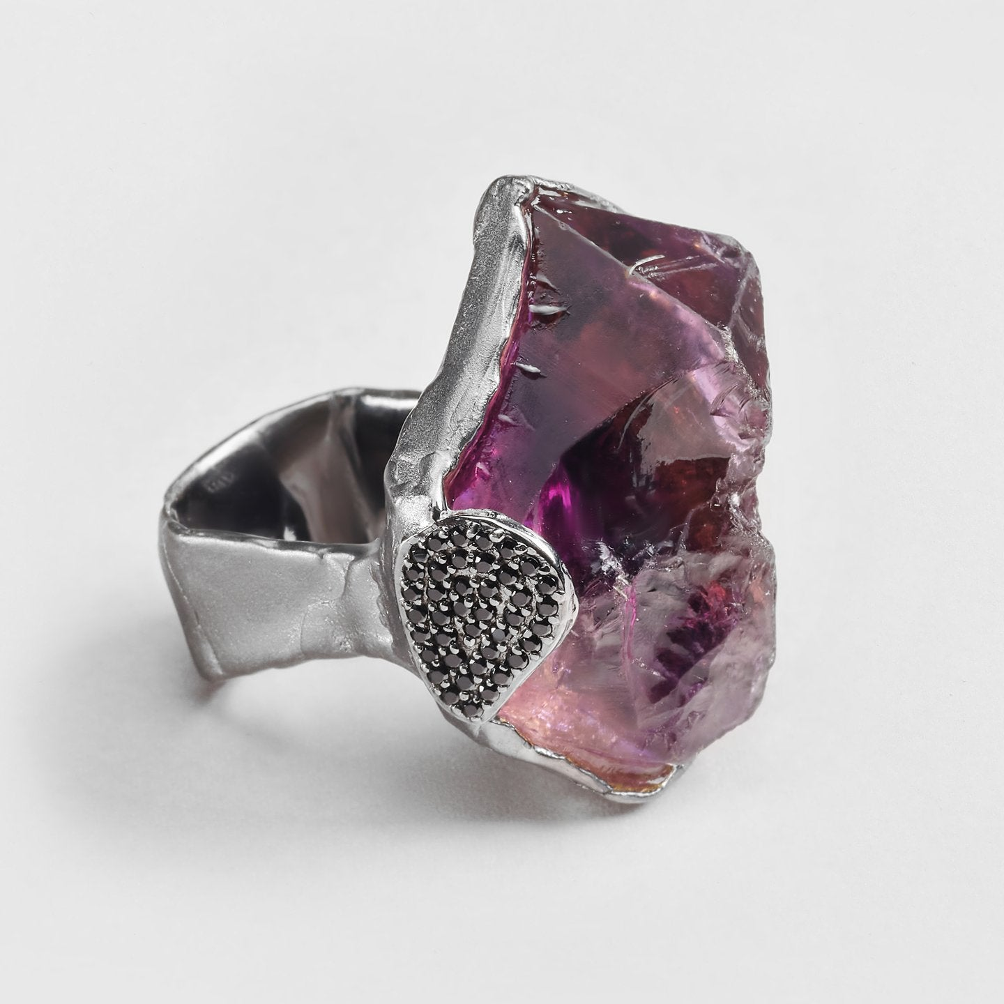 Aldin Amethyst and Spinel Ring