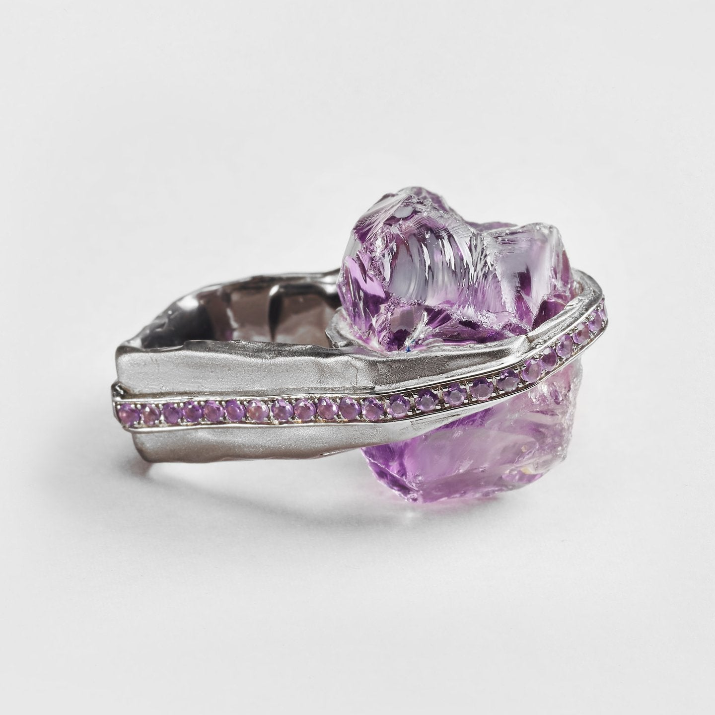 Imonie Amethyst and Amethyst Ring