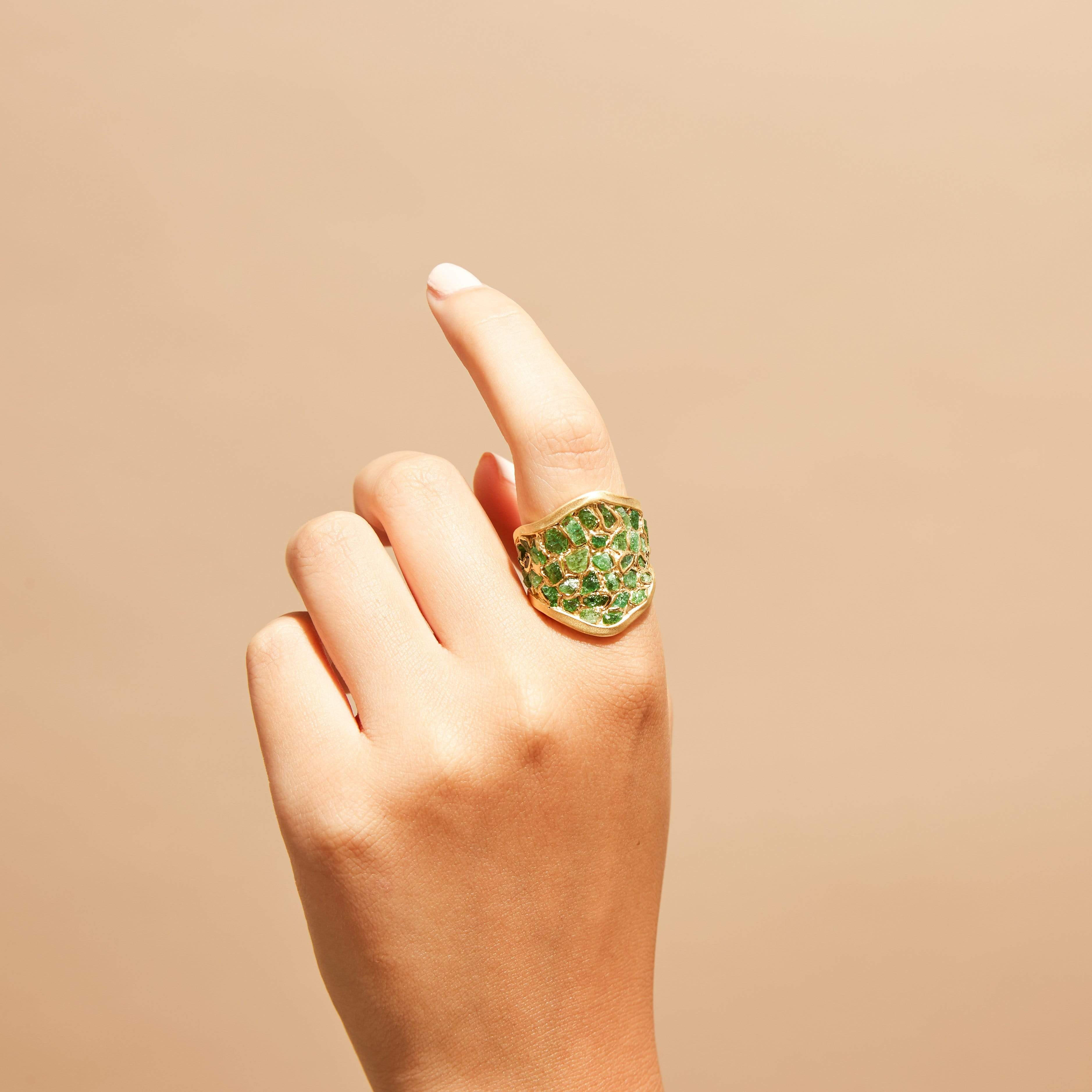 Emersa Tsavorite Ring