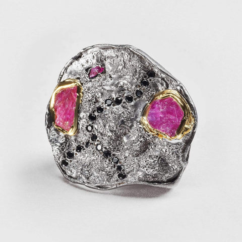Fyfe Ruby and Spinel Ring
