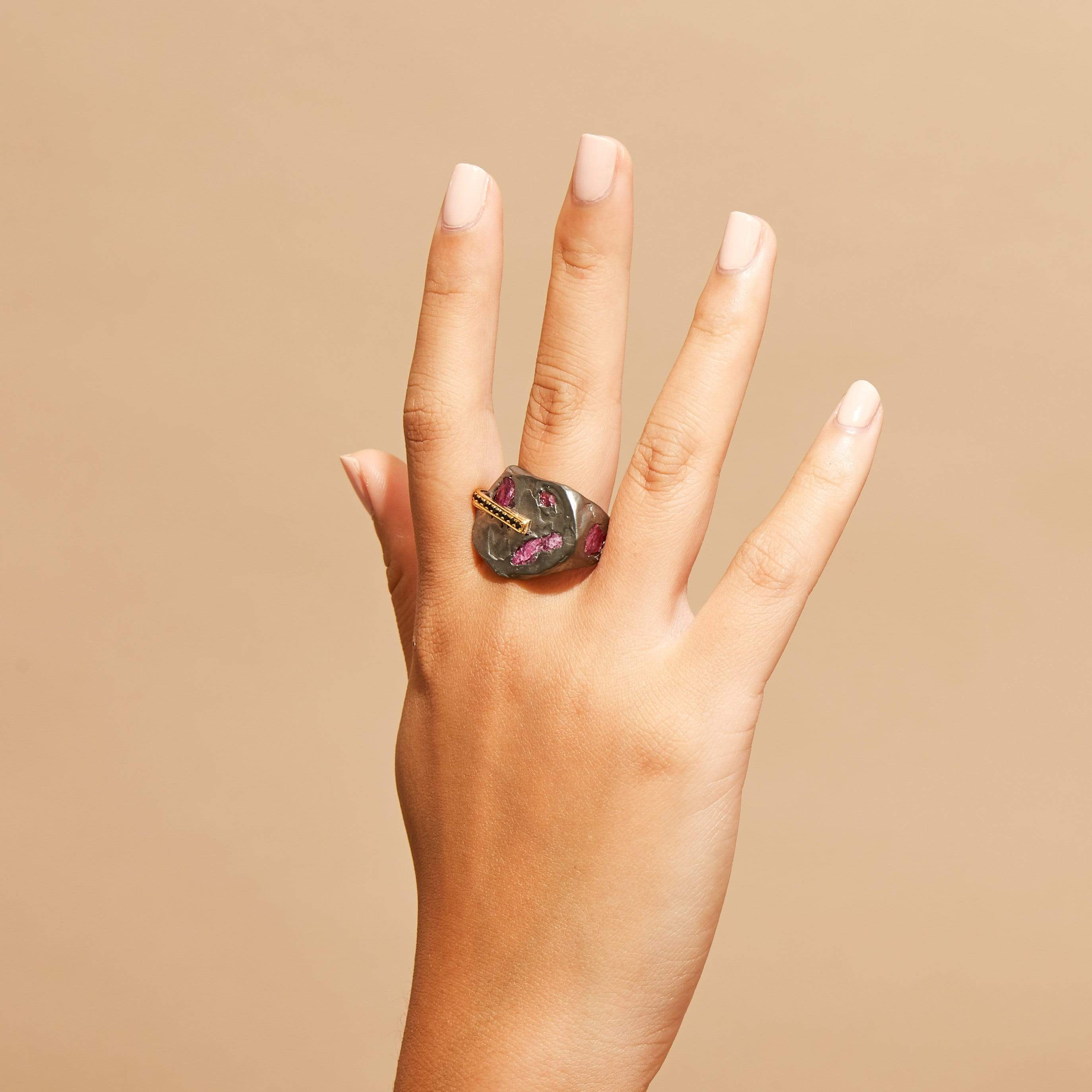 Sadir Ruby and Spinel Ring
