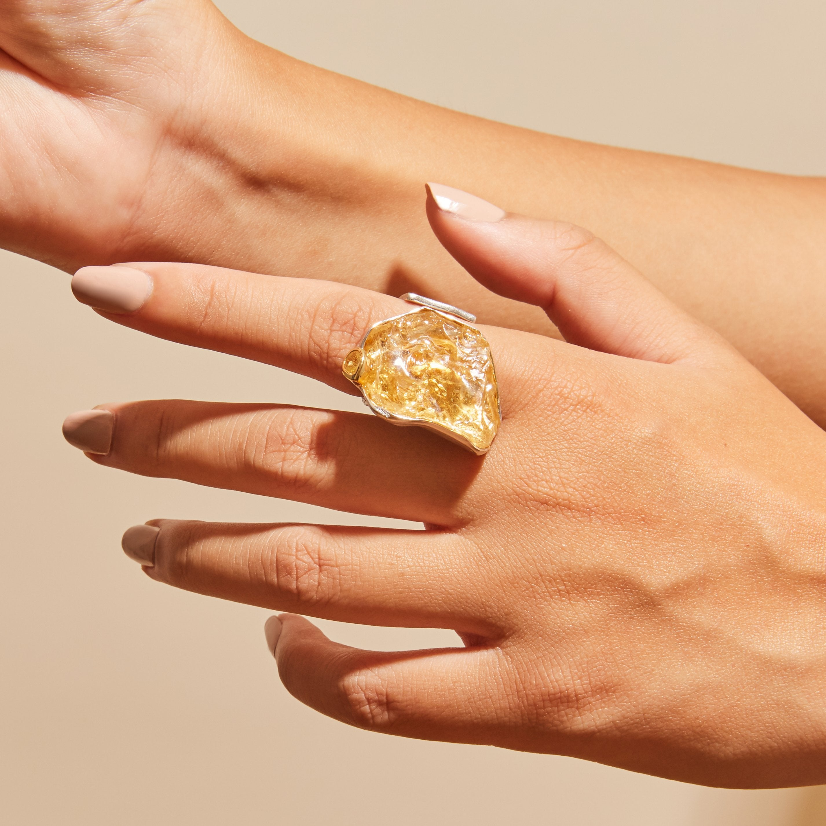 Adar Citrine Ring
