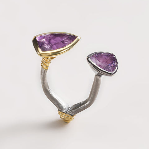 Marel Amethyst Ring