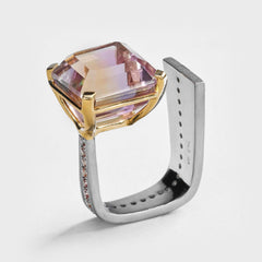 Onix Ametrin Ring
