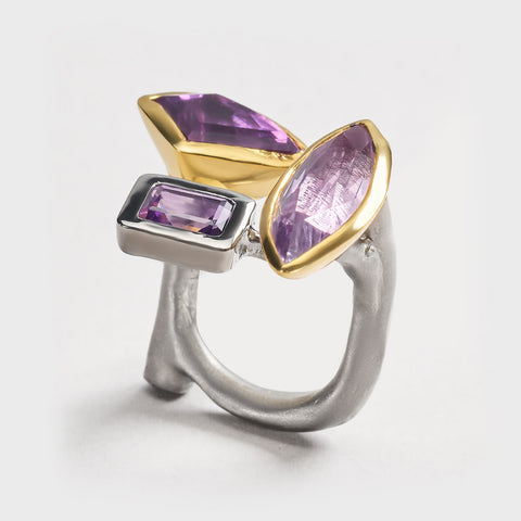 Naid Amethyst Ring
