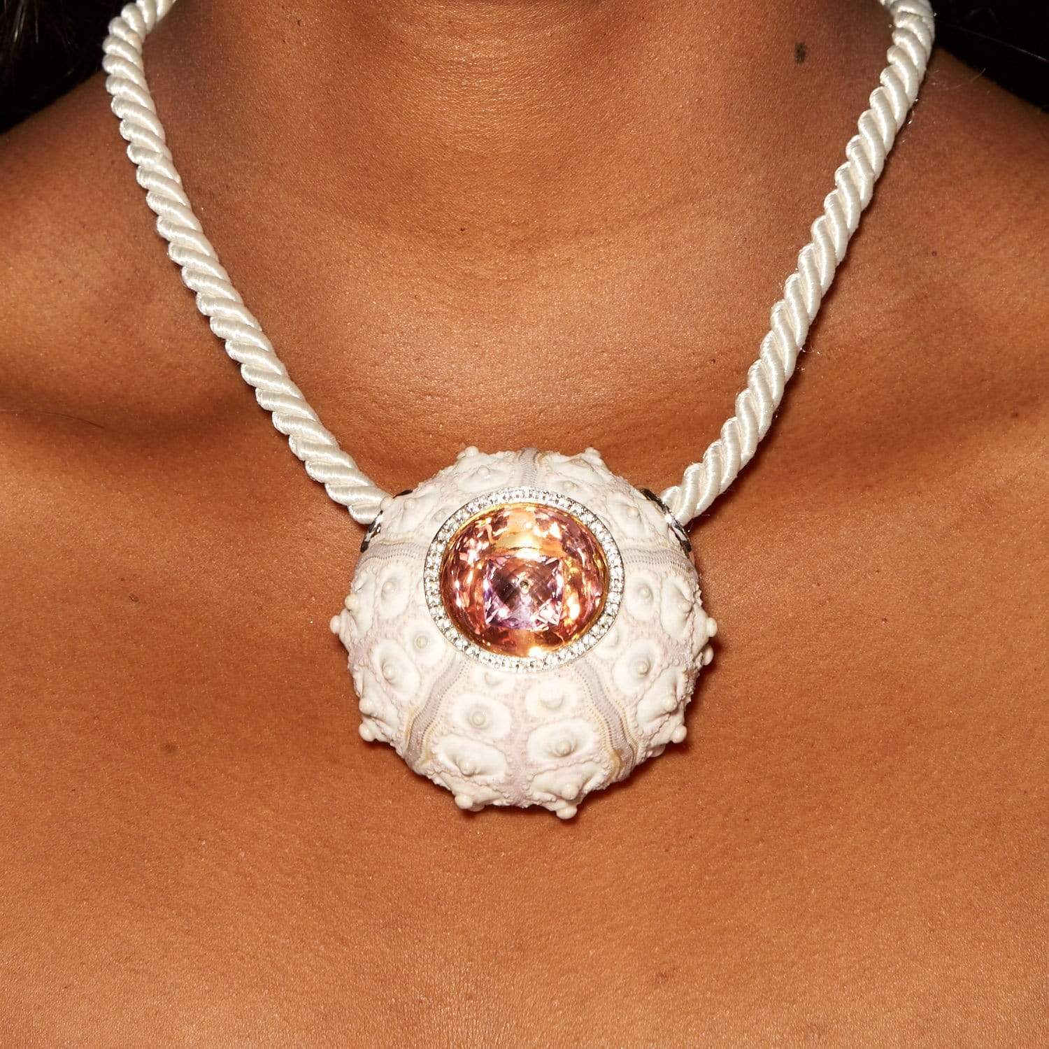 Coraline Pendant, Amethyst, Exclusive, Gold, Rhodium, Sapphire, silver, spo-disabled, StoneColor:White, Style:Fantasy Pendant