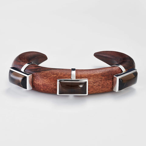 Sabriela Smokey Quartz Bangle