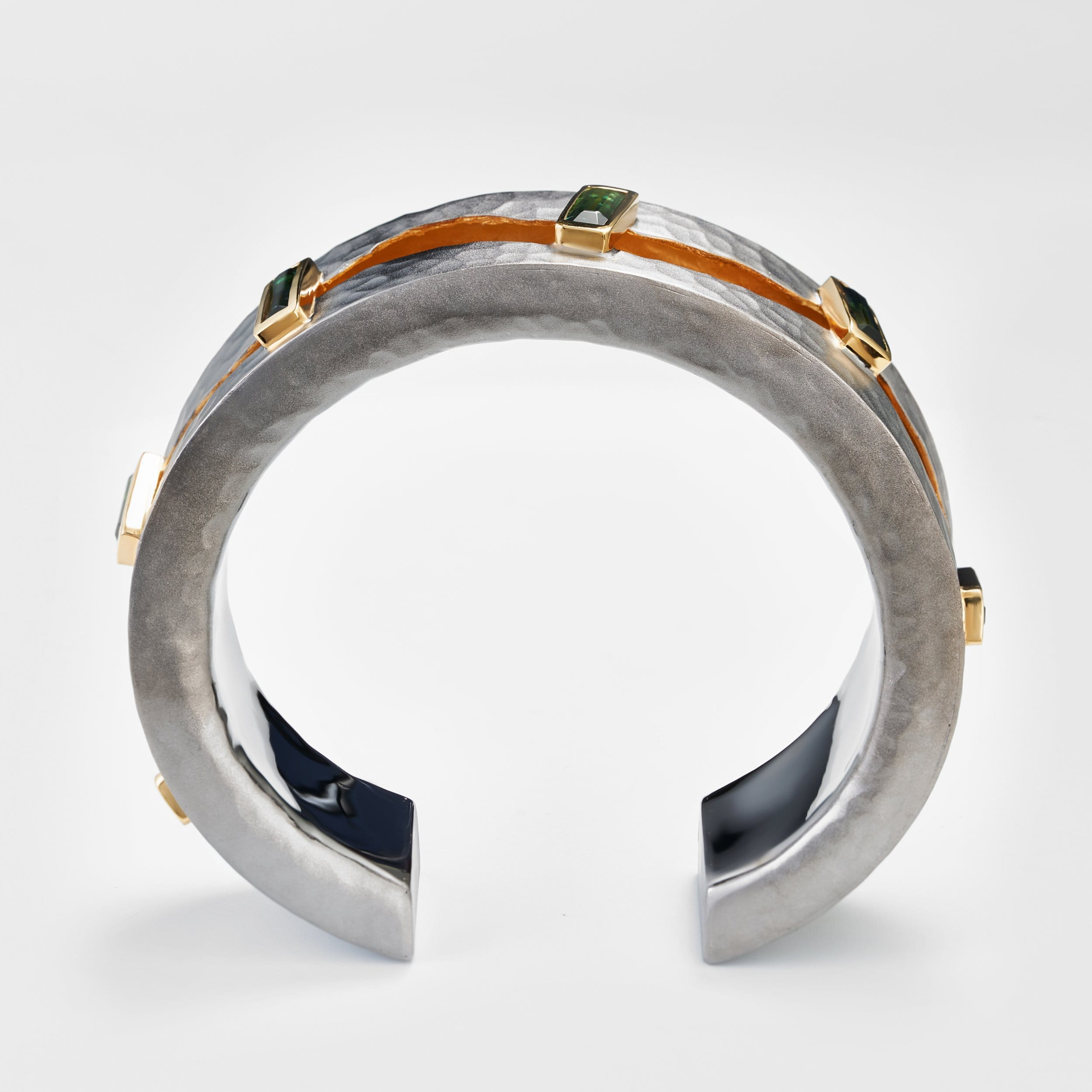 Dalyn Green Tourmaline Bangle