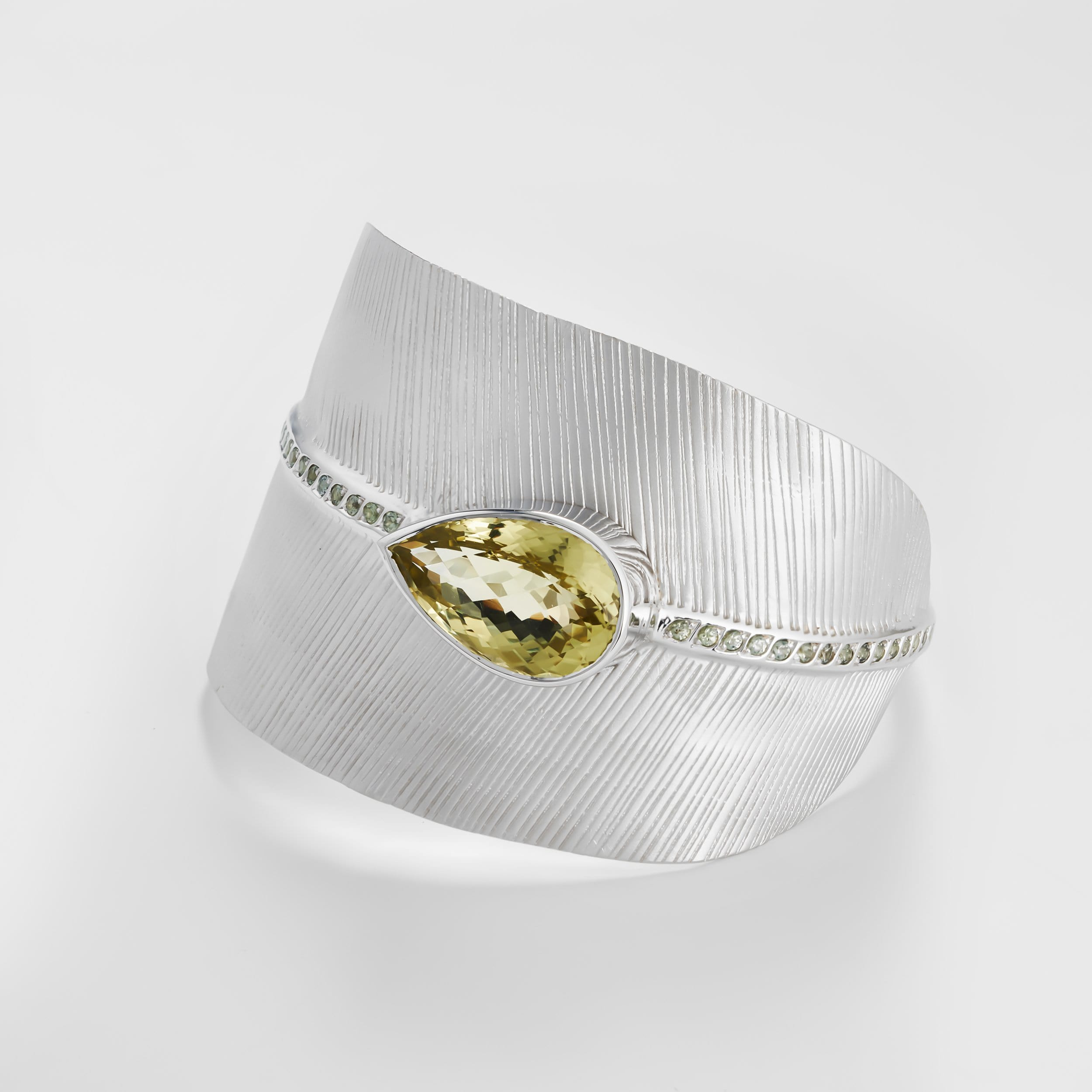 Arlyda Lemon Quartz Bangle