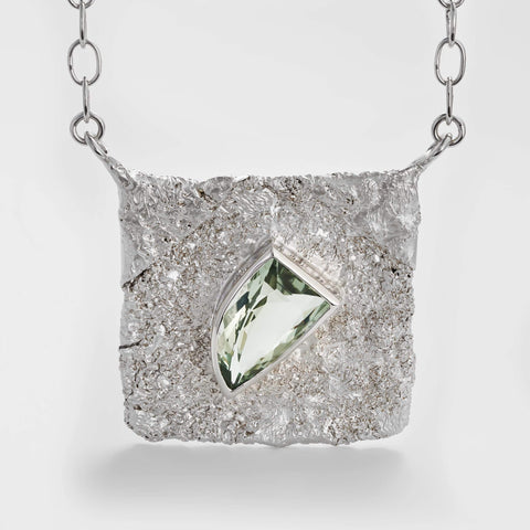Corlen Green Amethyst Necklace