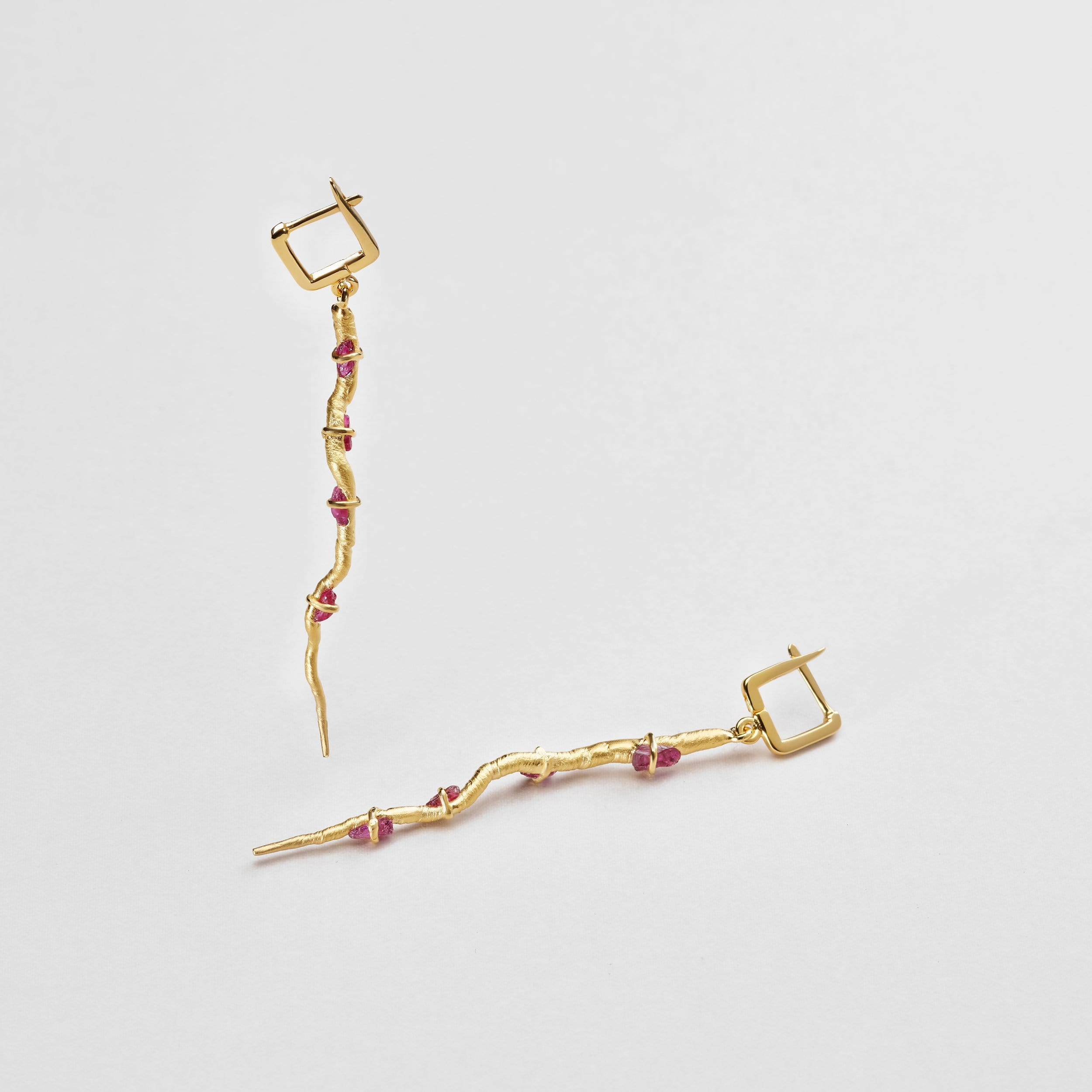 Etain Ruby Earrings