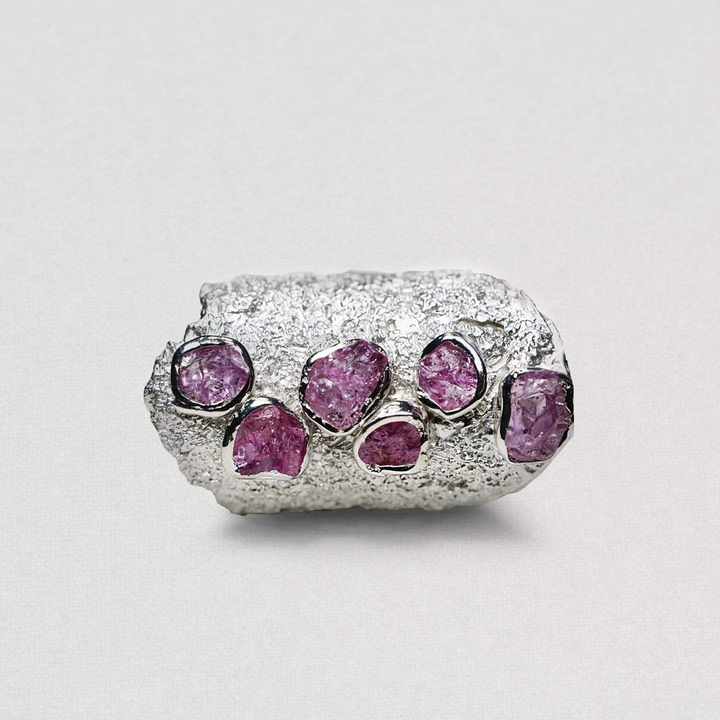 Adelie Pink Sapphire Ring