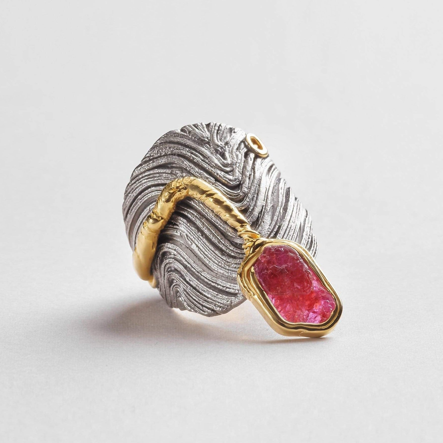 Monifa Slice Ruby Ring