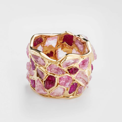 Alcina Ruby Pink Sapphire Ring