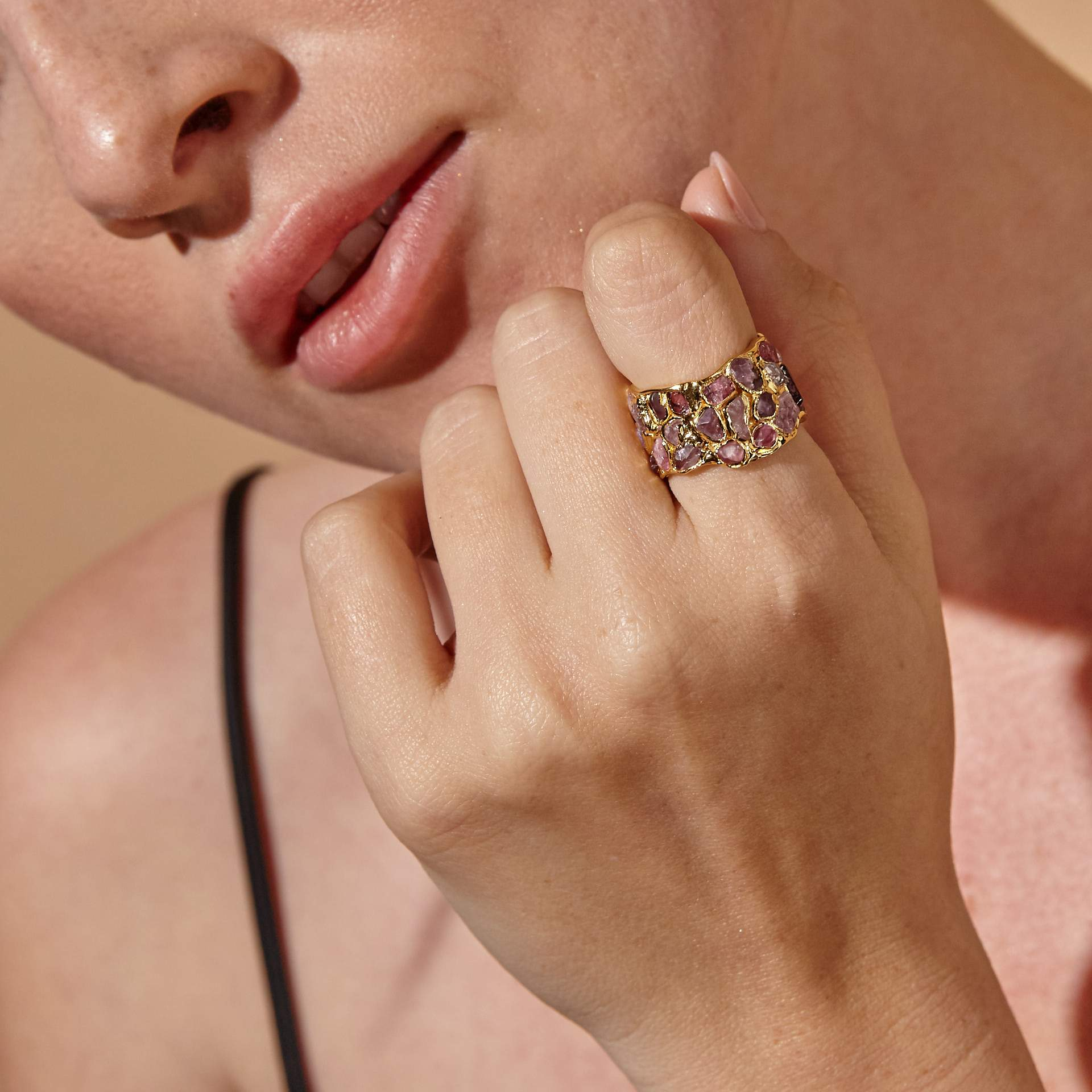Alcina Spinel Ring