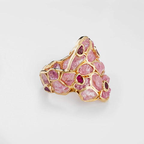 Nerissa Ruby and Pink Sapphire Ring