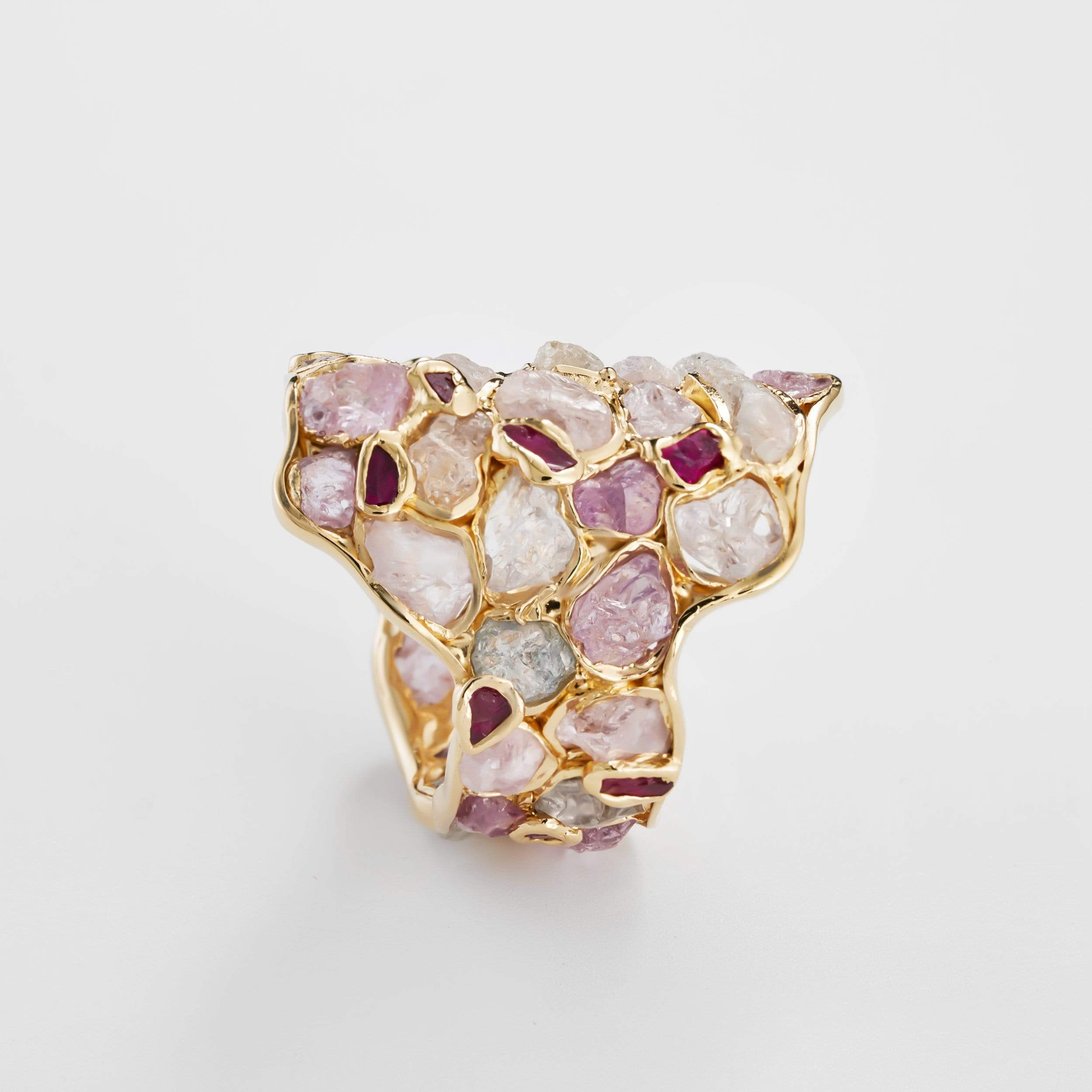 Nerissa Ruby and Spinel Ring