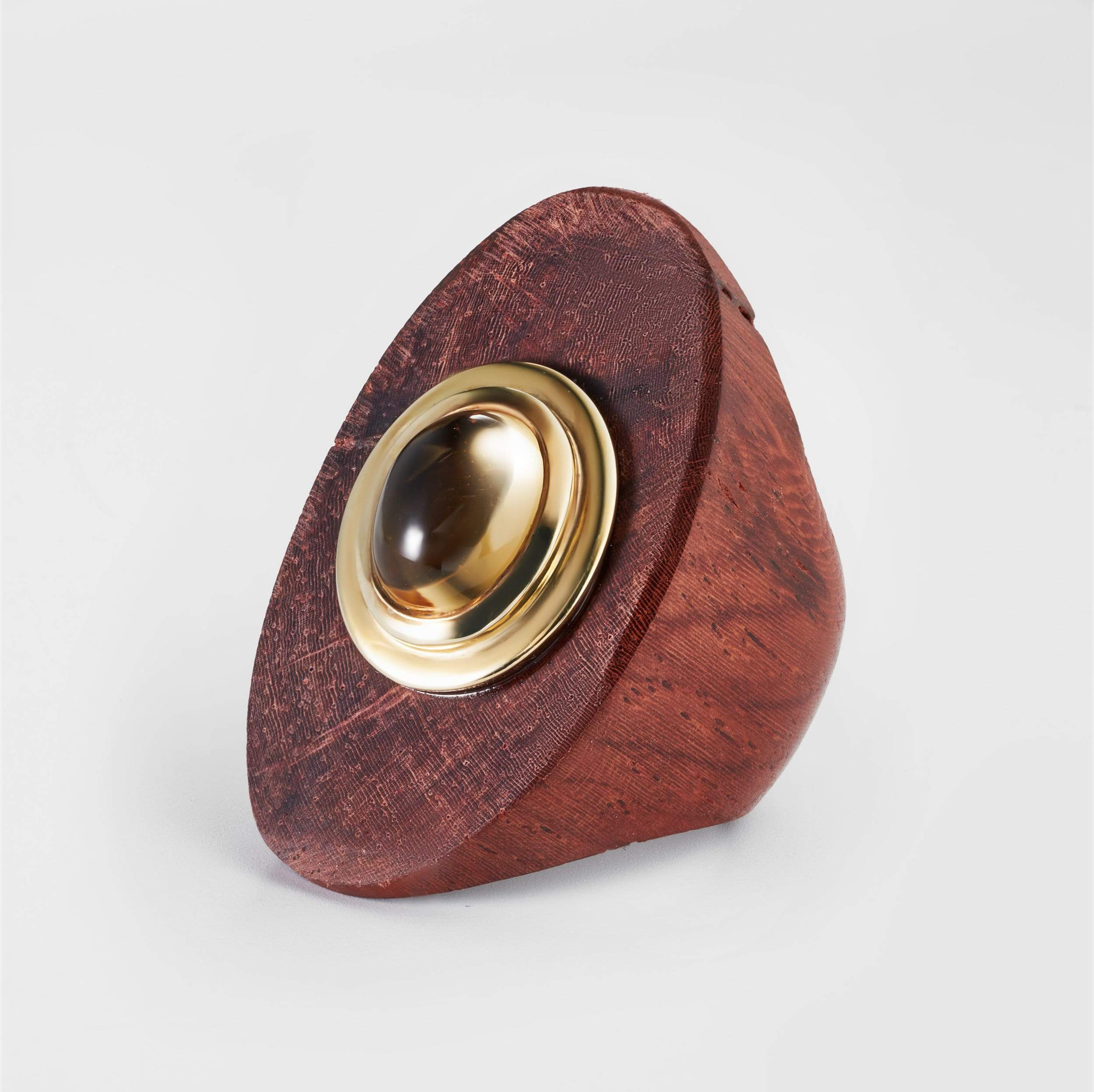 Mayana Citrine Wood Ring