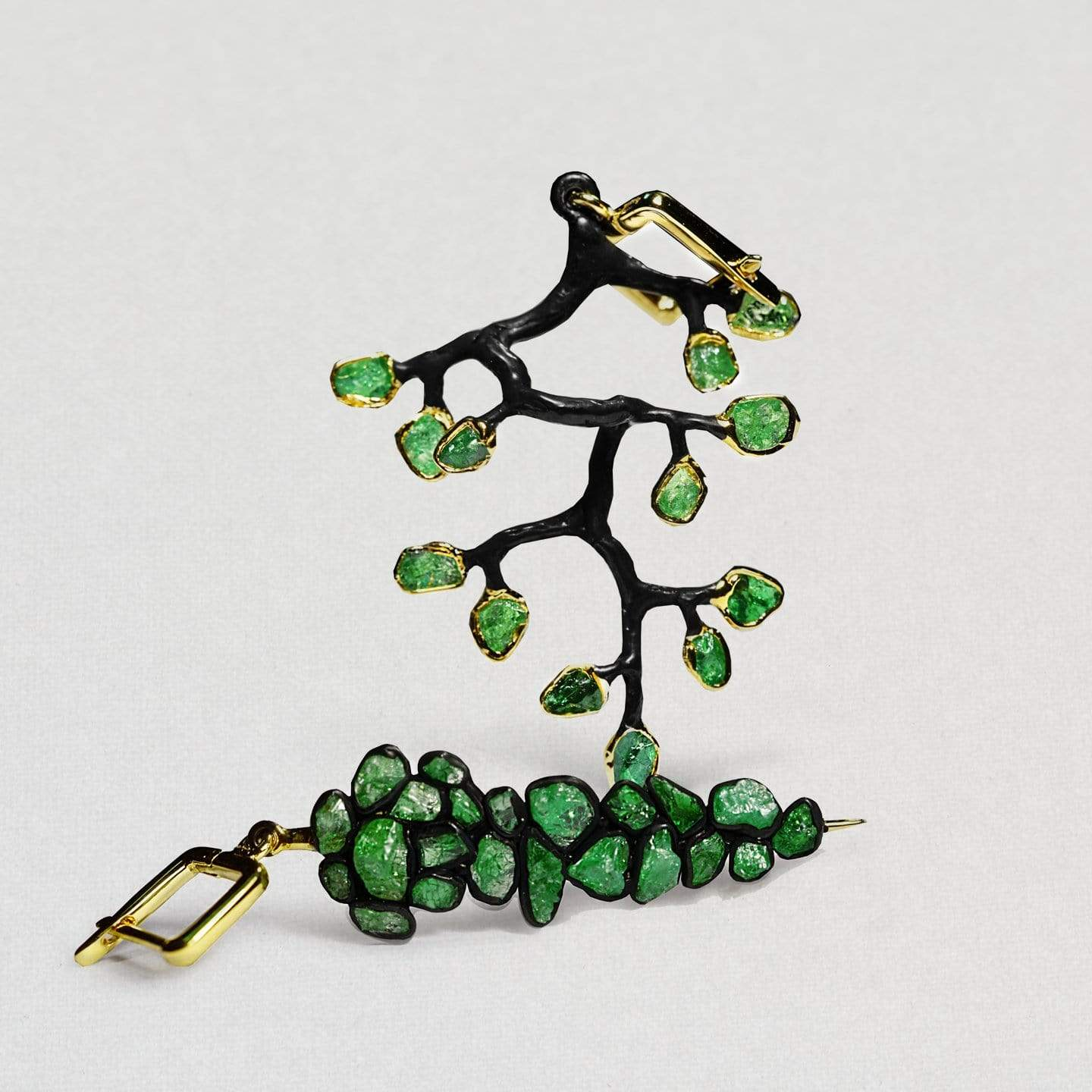 Audris Tsavorite Earrings