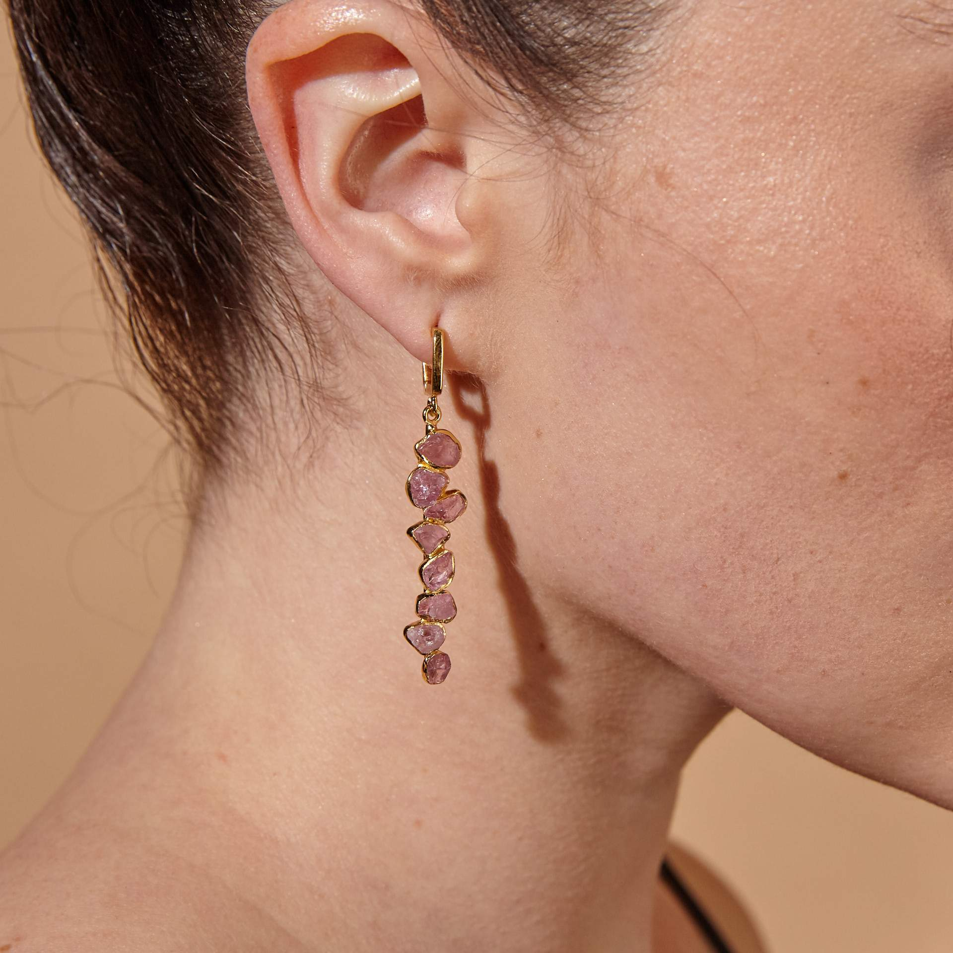 Noris Spinel Earrings