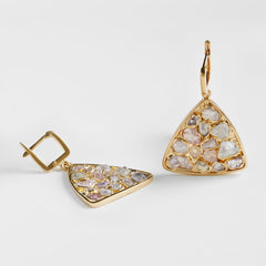Sevra Fancy Sapphire Earrings