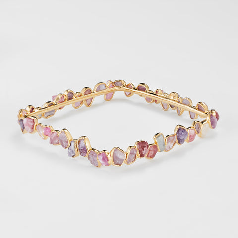 Munira Big Spinel Bangle