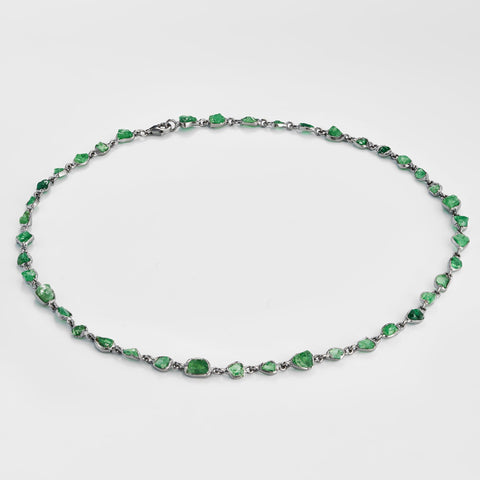 Arista Tsavorite Necklace