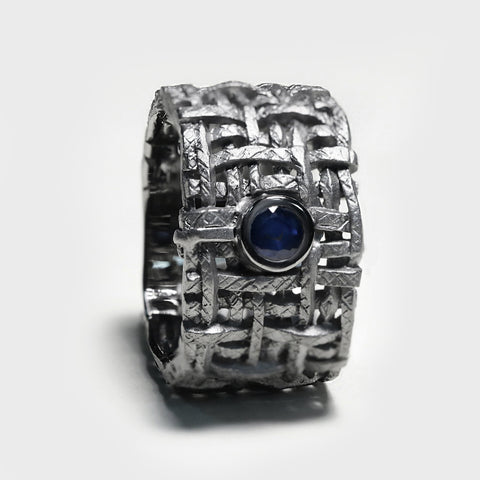 Kail Blue Sapphire Ring