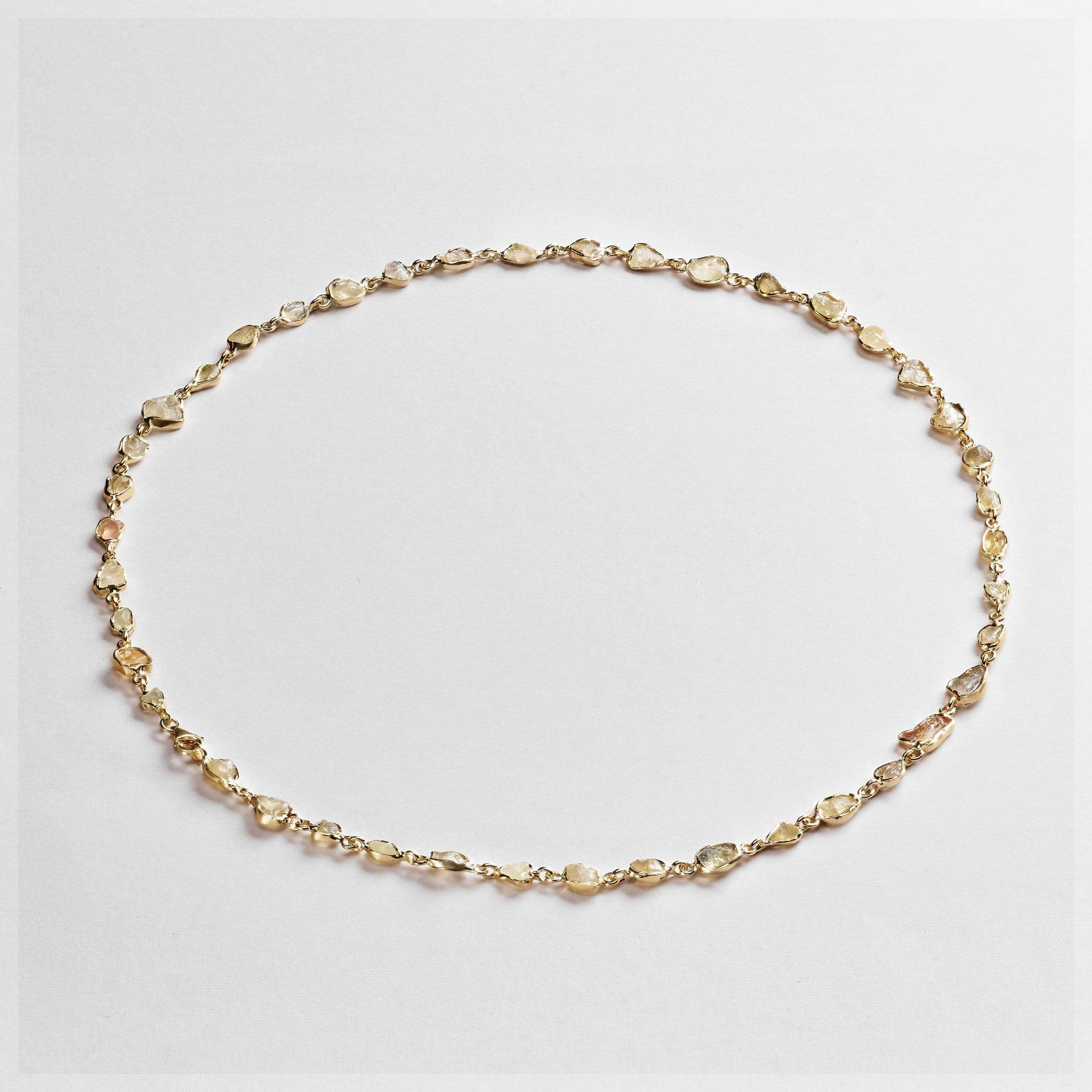 Arista Chrysoberyl Necklace