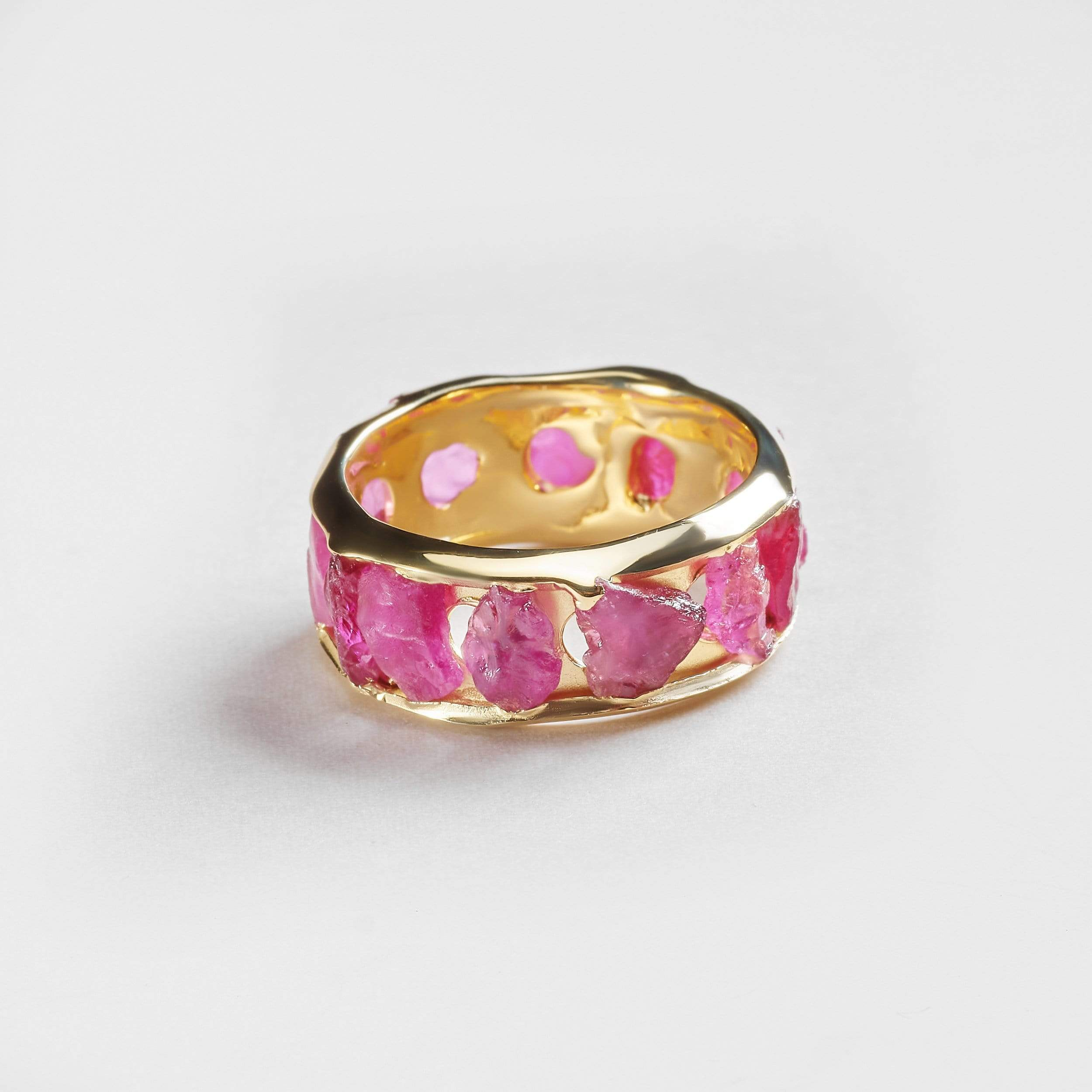 Gaina Ruby Ring